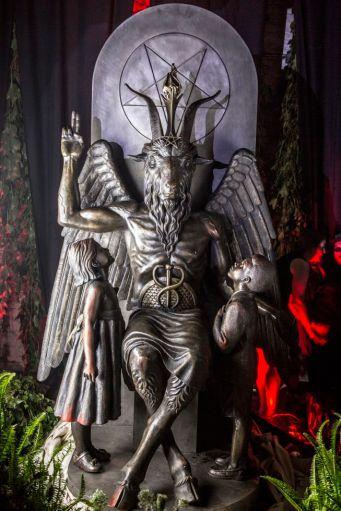 Satanic statue